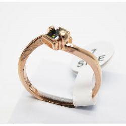 Modeschmuck ringe rosegold  Opulenter rosegold Ring mit hellrosa Strass Modeschmuck Fingerring